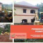 Pengerukan Tanah Lahan Untuk Pembangunan Masjid Al Hilal
