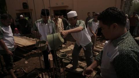 Laporan Keuangan dan Progres Pembangunan Masjid Pesantren al-Hilal 31