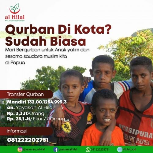 TIM al-Hilal Berangkat ke Papua Untuk Mendistribusikan Qurban 1