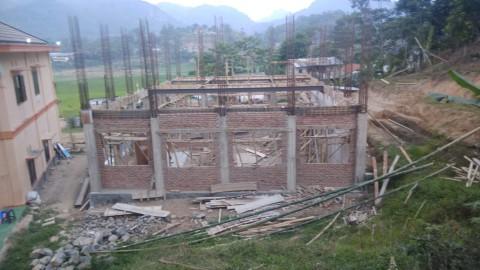 Laporan Keuangan dan Progres Pembangunan Masjid Pesantren al-Hilal 1