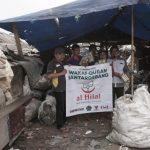 Sebar Wakaf Quran Untuk Pemulung Di Bantar Gebang