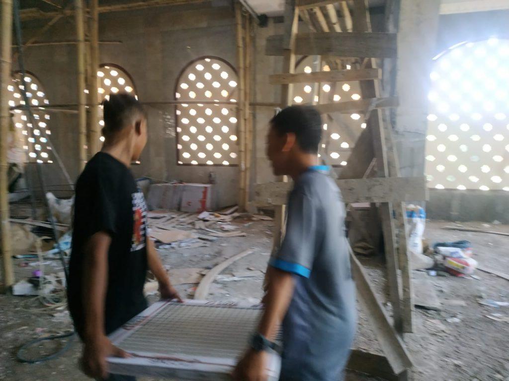 Laporan Keuangan dan Progres Pembangunan Masjid Pesantren al-Hilal 9