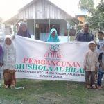 Mushola untuk Masyarakat di Pelosok Halmahera Masuk Proses Pembangunan
