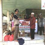 Komunitas Al-hilal Karawang Peduli Korban Banjir Desa Karangligar