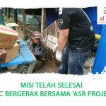 MISI TELAH SELESAI  #HLC BERGERAK BERSAMA 'ASR PROJECT#
