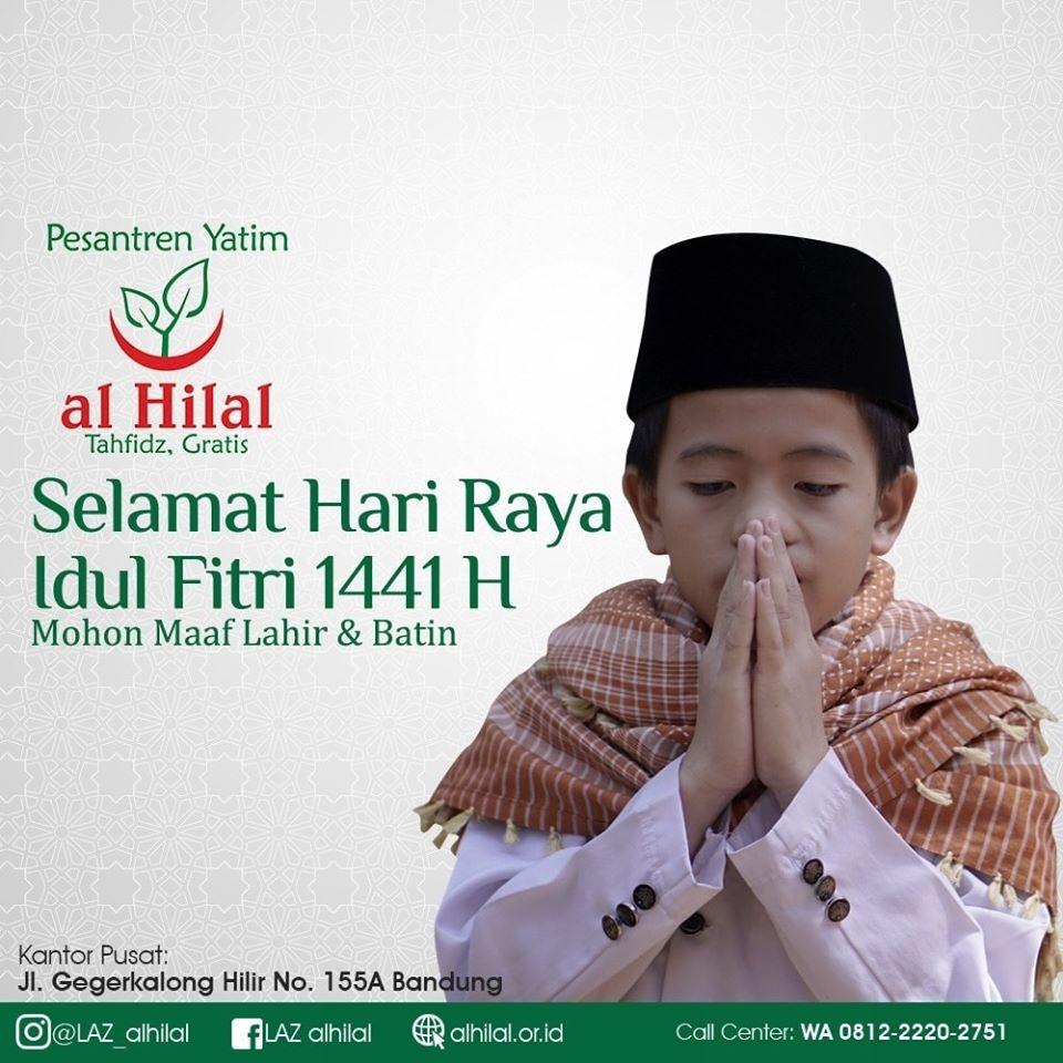 Selamat Hari Raya Idul Fitri 1441 H, Mohon Maaf Lahir
