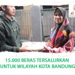 15.000 BERAS TERSALURKAN UNTUK WILAYAH KOTA BANDUNG
