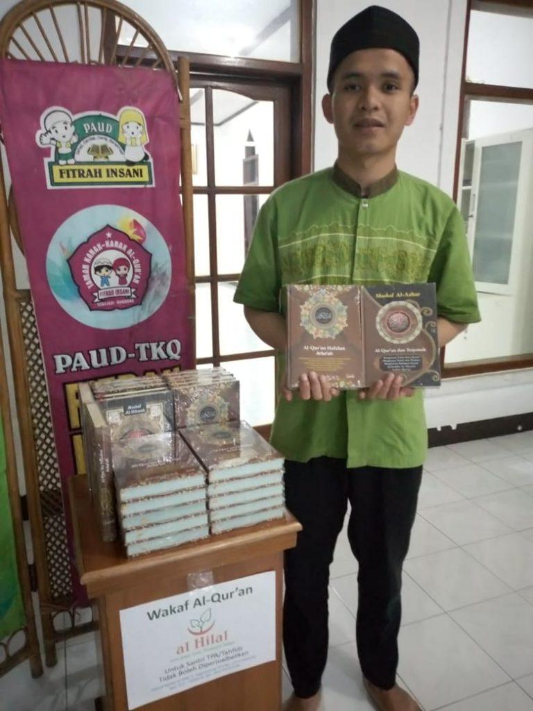 Penyaluran Wakaf Quran untuk TPA Terus Berlanjut 2