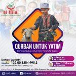 New Normal, New Qurban Untuk Yatim Dhuafa