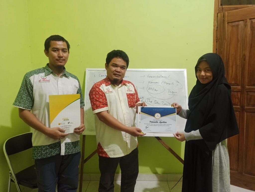 Sukses melaksanakan Pelatihan & Magang Digital Marketing 2