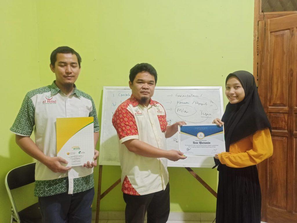 Sukses melaksanakan Pelatihan & Magang Digital Marketing 3