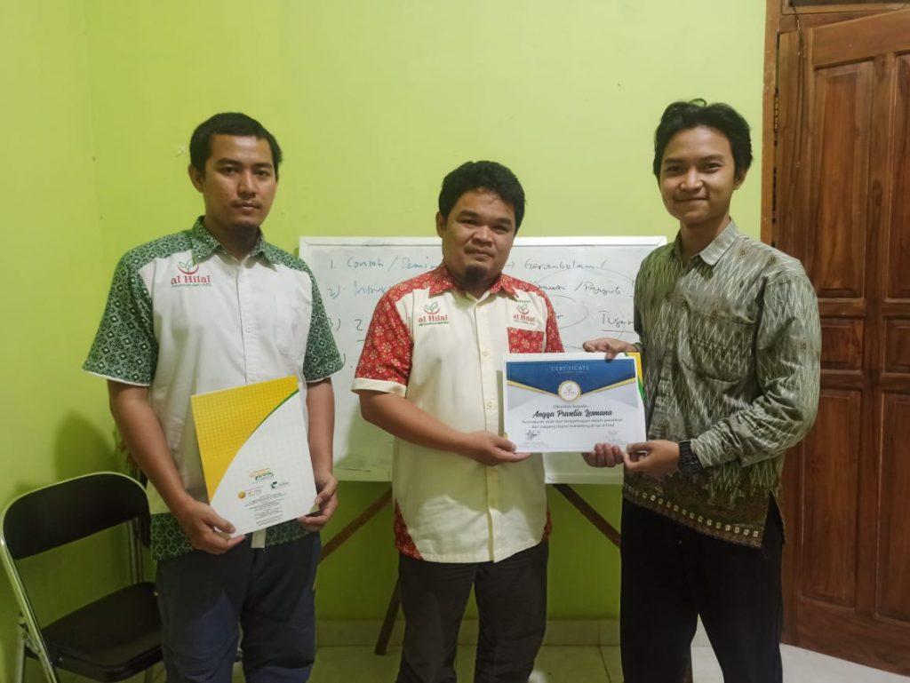 Sukses melaksanakan Pelatihan & Magang Digital Marketing 5