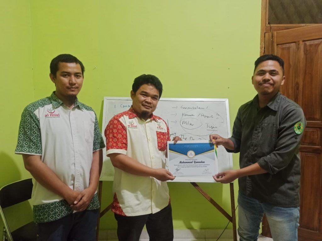 Sukses melaksanakan Pelatihan & Magang Digital Marketing 4