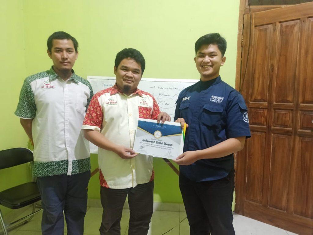 Sukses melaksanakan Pelatihan & Magang Digital Marketing 7