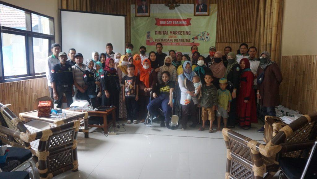 LAZ Al Hilal One Day Training Digital Marketing Untuk Penyandang Disabilitas (Difabel)  di Garut