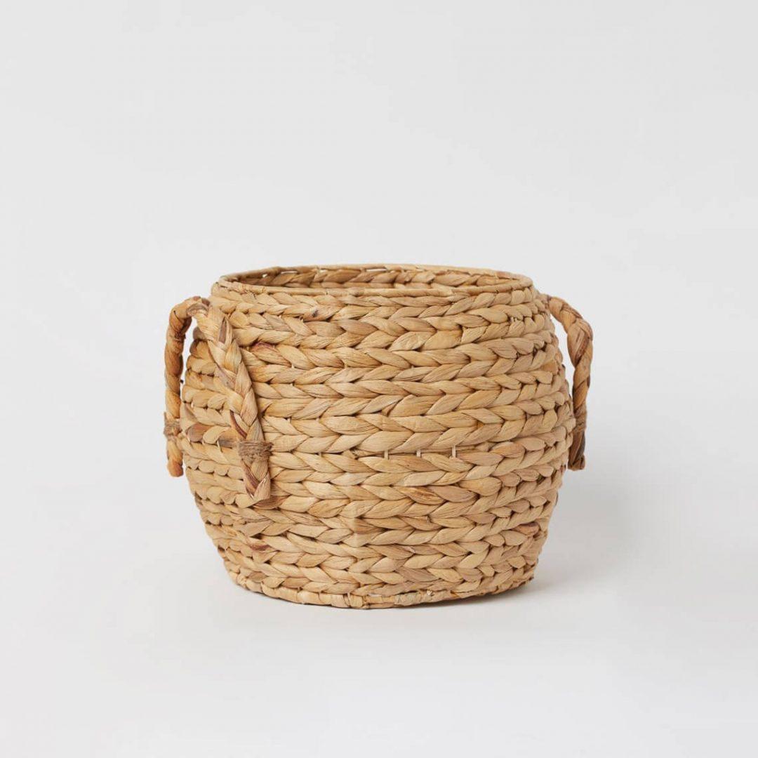 Handmade Straw Basket 1