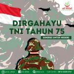 LAZ AL HILAL Dirgahayu TNI Tahun 75