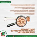 LAZ AL HILAL Memperingati Hari Osteoporosis Sedunia, 20 Oktober 2020!