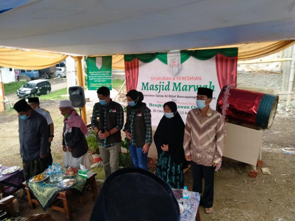 Syukuran Dan Presmian Masjid Pesantren Al hilal 2