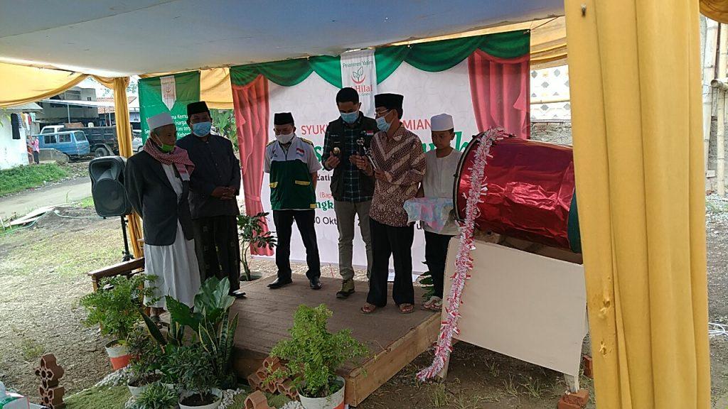Syukuran Dan Presmian Masjid Pesantren Al hilal 1
