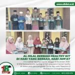 Al Hilal Berbagi Healthy Kit Di Hari Yang Berkah, Hari Jum'at