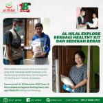 """Al Hilal Explore : """"Berbagi Beras & Healthy Kit"""""""