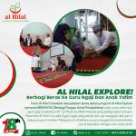 """Al Hilal Explore! """"Berbagi Beras Ke Guru Ngaji Dan Anak Yatim"""""""