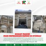 """Wakaf Masjid : """"Mari Membangun Rumah Di Syurga!"""""""
