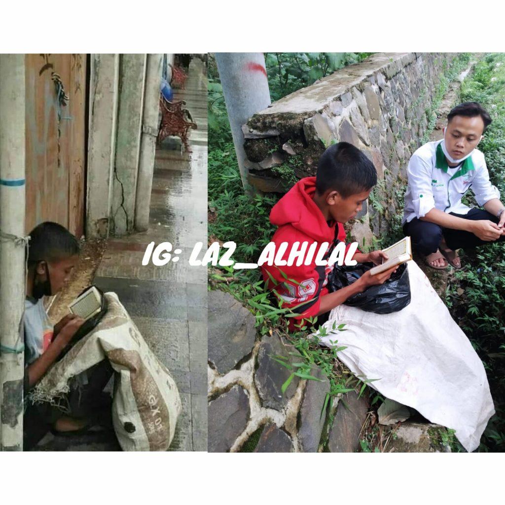 Remaja Baca Al Quran di Jalan Braga ditemukan di Lembang KBB, Viral di Medsos. 1