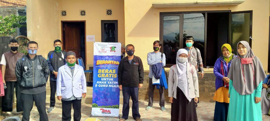 Koordinasi Dan Briefing Relawan Pembagian Beras Al-Hilal