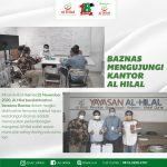 Baznas Mengunjungi Kantor Al Hilal