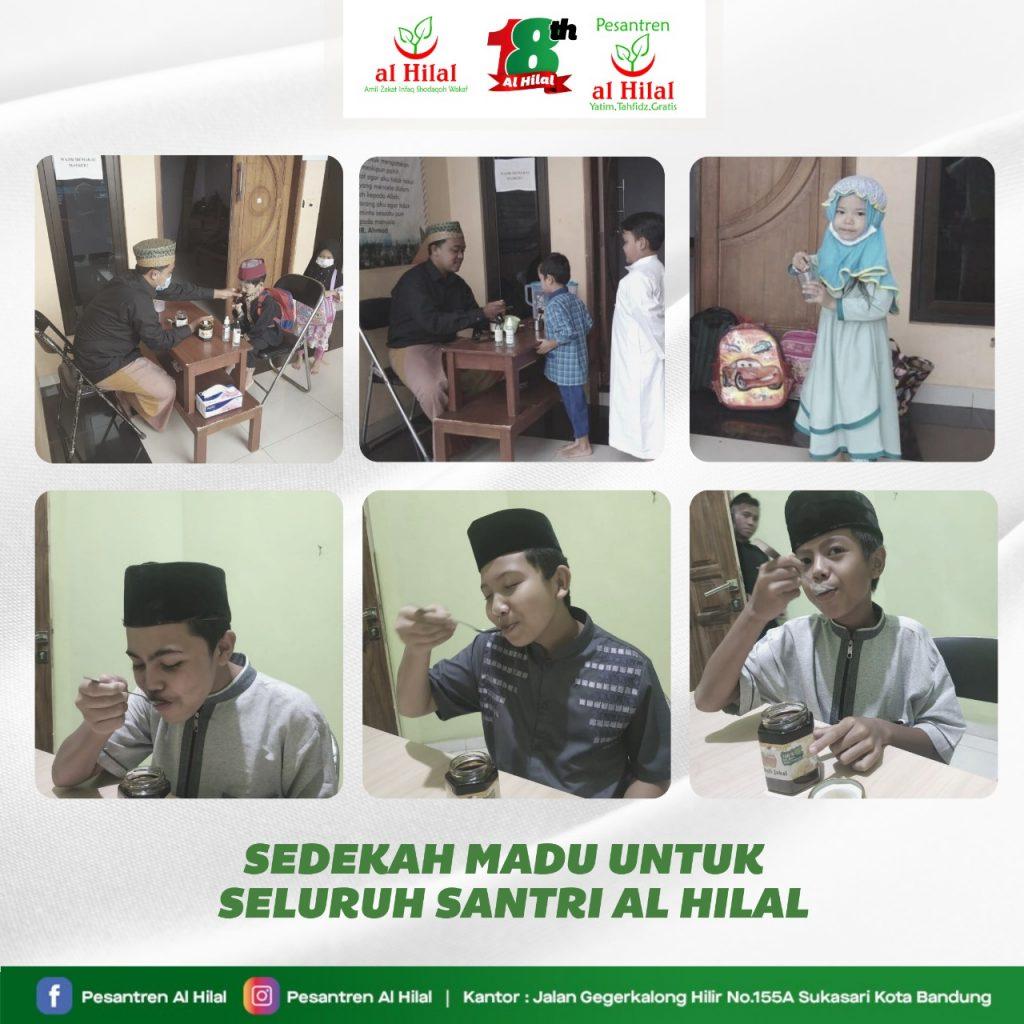 Sedekah Madu Untuk Anak Yatim & Penghafal Qur'an