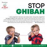 Stop Ghibah Sekarang Juga!
