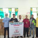 SDIT Wahdatul Ummah Menjadi Titik Bertemu Untuk Sebar Wakaf Qur'an Daerah Metro
