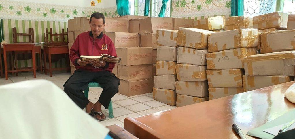 SDIT Wahdatul Ummah Menjadi Titik Bertemu Untuk Sebar Wakaf Qur'an Daerah Metro 3