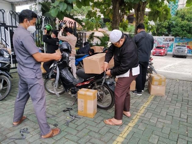SD Islam Azzahra Menjadi Titik Bertemu Untuk Sebar Wakaf Qur'an Daerah Bandar Lampung 3