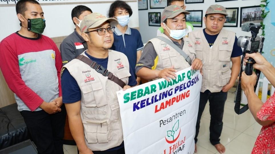 SWQ Hari ke-1 | Menuju Lampung Untuk Sebarkan Al Qur'an 2