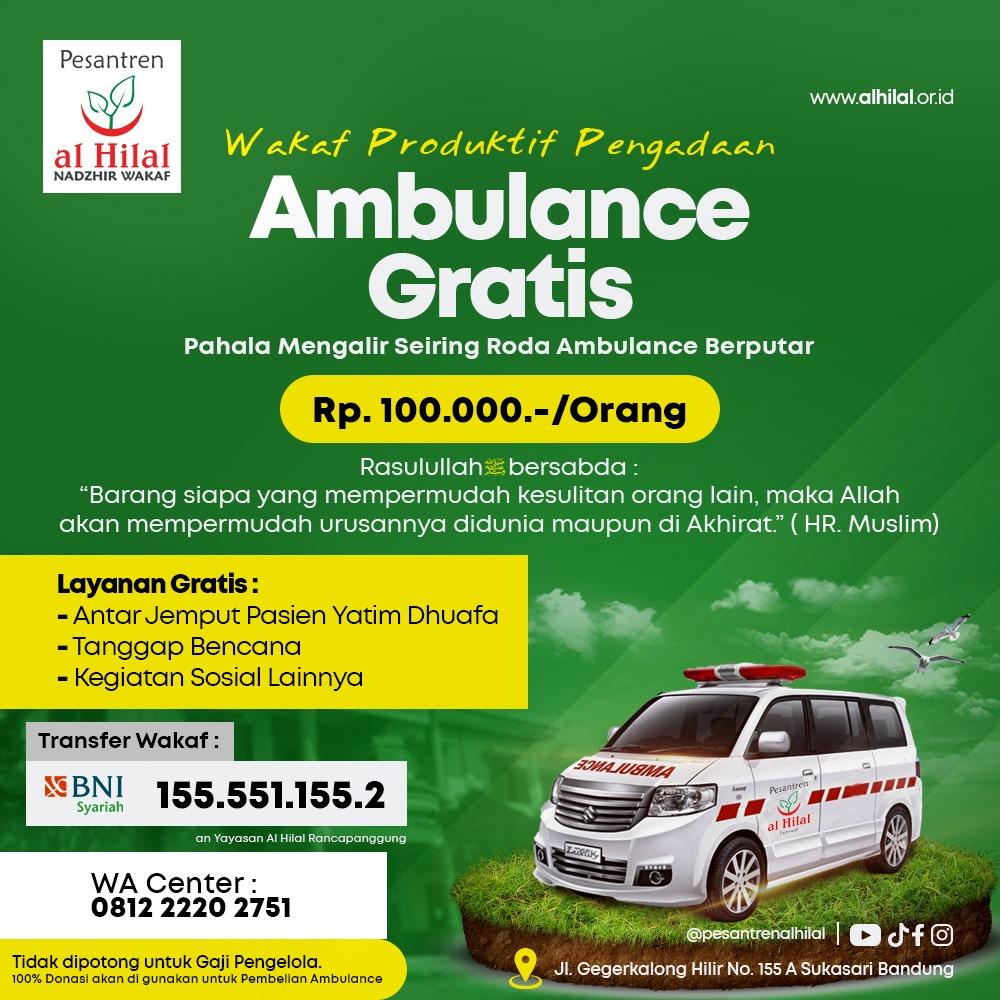 wakaf ambulance