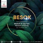 BESOK! Menuju Wakaf Al Quran Pelosok Lampung