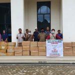 Sebar Wakaf Qur'an Telah Sampai di Masjid Nurul Barokah Lampung Timur