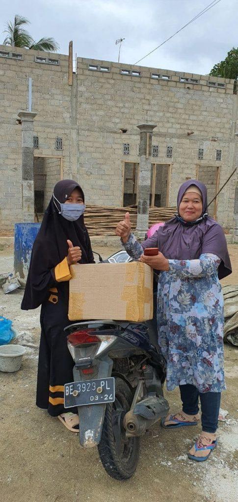 Sebar Wakaf Qur'an Telah Sampai di Masjid Nurul Barokah Lampung Timur 1