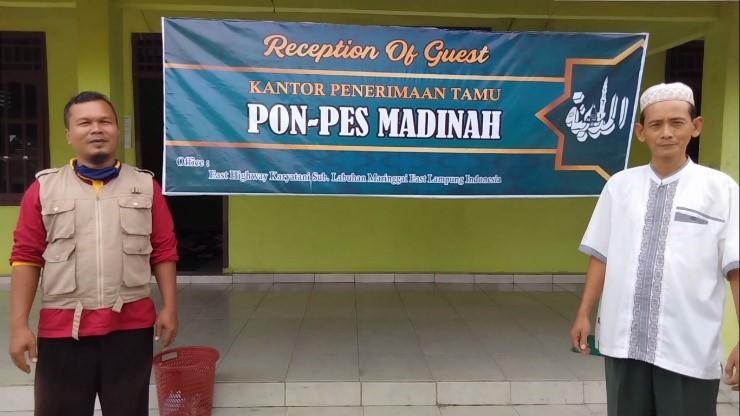 Sebar Wakaf Qur'an Sampai di Pondok Modern Madinah Lampung Timur
