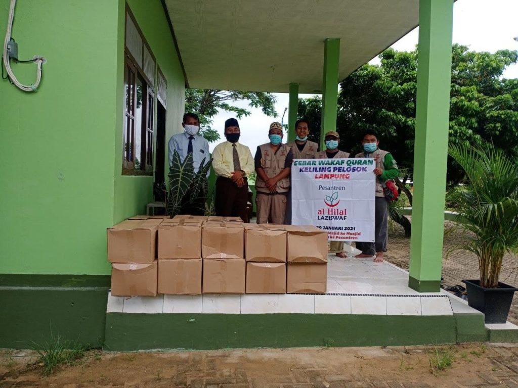 SWQ Hari ke-7 | Penyaluran Al Quran di Pesantren Gontor Putri 8 Lampung 2