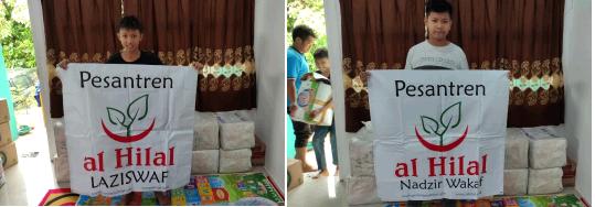 Penyaluran Wakaf Quran Untuk Korban Bencana Sulawesi Barat Telah Dibagikan 3
