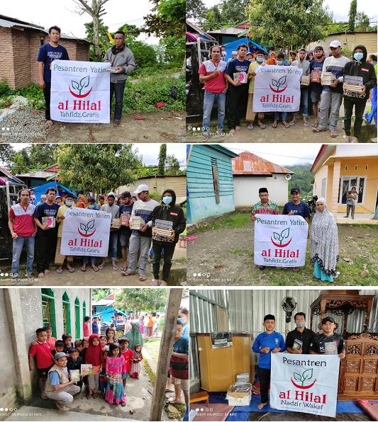 Alhamdulillah, Wakaf Quran Untuk Korban Bencana Gempa Bumi Sulawesi Barat Telah Tersalurkan 3