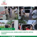 Alhamdulillah, Ambulance Gratis Untuk Ummat