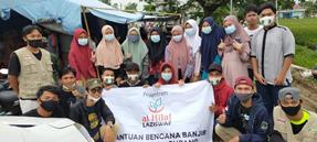 Relawan Al-Hilal Berada di Posko Bencana