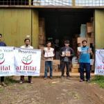 Penyaluran Wakaf Quran Korban Gemba Mamuju