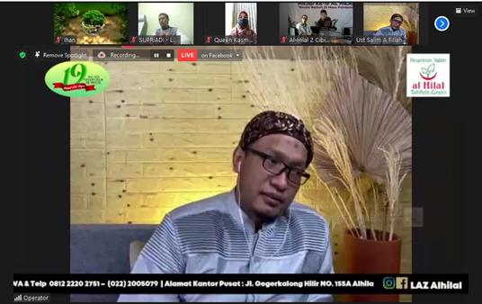Puncak Acara Milad Ke-19, Bersama Ustadz Salim A. Fillah Yayasan Al Hilal Melaksanakan Pengajian Akbar 1