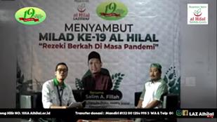 Puncak Acara Milad Ke-19, Bersama Ustadz Salim A. Fillah Yayasan Al Hilal Melaksanakan Pengajian Akbar 2